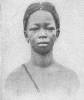 Picture of a Fulani young woman