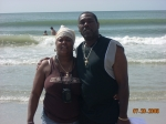 Charlene and Vaughn  Enjoying the Beach